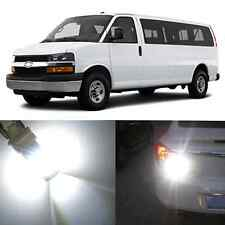 Alla Lighting Back-Up Reverse Light LED Bulbs for 03~17 Chevy Express 1500 2500
