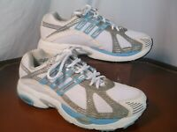 Adidas White and Blue Supernova Cushion Casual Athletic Sneakers Men's Sz 9 M US