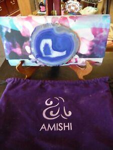 Amishi Agate Clutch