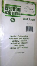 """EVERGREEN FOGLIO stirene 4524-metallo Roofing 1/2 """"spaziatura 12,7 mm, 040"""" di spessore 1mm"""