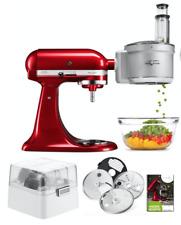 KitchenAid Foodprocessor Vorsatz mit Zubehör für ALLE KitchenAid Küchenmaschinen