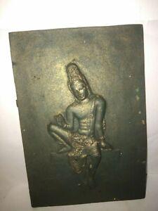 Buddha Avalokitheshvara Bodhisathwa Handmade Fiber Plate Home Decor ornaments