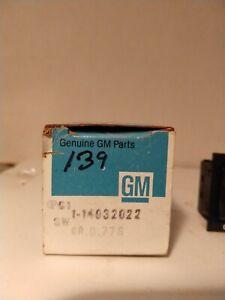 GM General Motors Defroster Switch 14032022 NOS