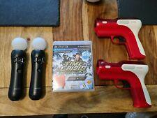 Sony Playstation 3 Move & Sony Eye Kamera Zubehörpaket mit Spielen, Ladestation