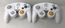 RARE Nintendo Super Smash Bros Gamecube Controller White Wii U Japan Lot Of 2