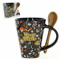 Harry Potter Mug W/Spoon (chibi)-Wizarding World