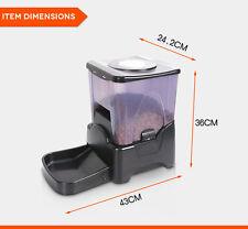 LED Automatic Pet Feeder Dog Cat Programmable Animal Food Bowl Auto Dispenser