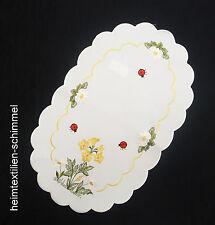 STICKEREI Tischdeckchen TISCHDEKORATION Deckchen Tischdecke Tischläufer 28x46