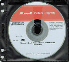Microsoft Windows Small Essential Business Server 2008 Standard Edition
