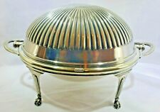 """Mappin & Webb Antique """"Prince's Plate"""" Silver Plated Tureen Domed Server"""