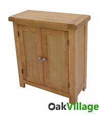 Oak Storage Cupboard / Linen Cabinet / Bathroom Unit / Brand New Wellow