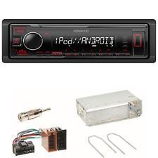 Kenwood KMM-205 USB AUX Autoradio USB MP3 Einbauset für Renault Clio 1 2 Twingo