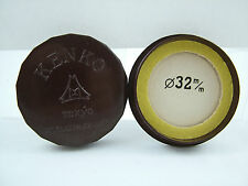 VINTAGE KENKO BAKELITE BROWN 32MM YELLOW FILTER HOLDER