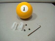#1 pool ball shifter knob shifter lever customer shifter handle yellow shifter