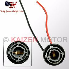 1x 1156 7506 Wiring Harness Socket For Turn Signal Tail Brake Light Bulb #SC8