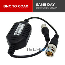 CCTV Male BNC to Female Coaxial Video Ground Loop Adapter Isolator Cable