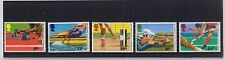 MINT 1986 GB COMMONWEALTH GAMES SPORT SET OF 5 MUH STAMPS
