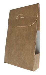 Tapered Card Small Box (14x8.5x2.5 cm), Ideal Display Farmers Market etc.(100)