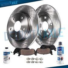 Rear Brake Rotors + Brake Pads Buick Encore Chevrolet Cruze Limited Sonic Brakes