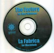 The Factory Pc Cd kids learn early business skills design build ship stuff game!