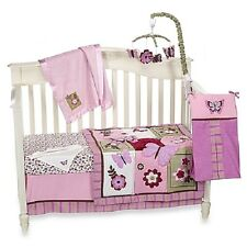 Emily 8 Piece  Crib Bedding Set  by Nojo -  Butterfly  Garden