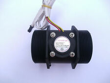 "NEW G 2"" inch Water Flow Flowmeter Counter Hall Sensor Switch Meter 10-200L/min"
