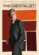 The Mentalist Complete Season Four R4 DVD Series 4