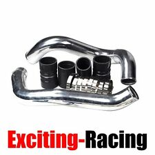 Turbo Intercooler Pipe Boot Kit CAC Tubes Silver For 03-07 Ford 6.0L Powerstroke