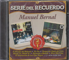 CD - Manuel Bernal NEW Serie Del Recuerdo 18 Tracks - FAST SHIPPING !