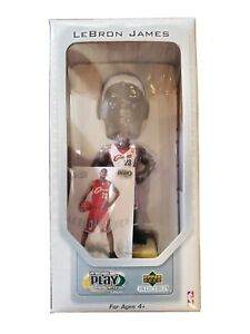 Lebron James Upper Deck 2003 Rookie Bobble Head W/ Card Limited Edition In Box