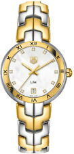 WAT1353.BB0962   BRAND NEW AUTHENTIC TAG HEUER LINK GOLD & STEEL WOMENS WATCH