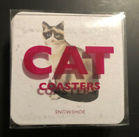 Cat Coasters by Marcel George Cat Lovers, 15 Different Designs, Cute, Great Gift