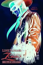 Lone Ranger Death of Zorro #5 1:10 Francavilla Negative Variant