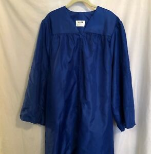 Jostens Royal Blue Graduation Gown, Height 5'10- 6'0 Excellent Used Condition