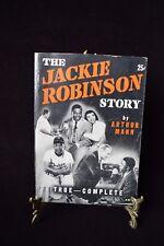 THE JACKIE ROBINSON STORY by ARTHUR MANN RARE 1950