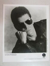 Lou Reed Original 1988 Sire Records 8x10 Promo Photo Velvet Underground Related