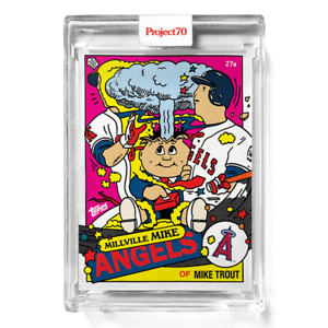 Topps Project70® Card 357 - Mike Trout by Ermsy  READY TO SHIP