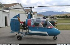 J4B2 Barnett Gyrocopter J4-B2 Helicopter Handcrafted Wood Model Regular New