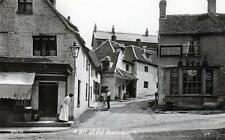 A bit of old Nailsworth Red Lion Inn Pub unused sepia RP old pc Valentines
