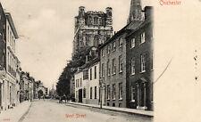 CHICHESTER - West Street - Sussex - 1908 Stengel Original Postcard (86P)