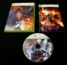 Devil May Cry 4 COMPLETE Black Label First Print (Microsoft Xbox 360, 2008)