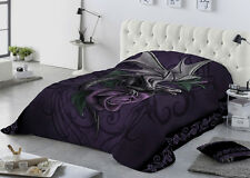 Anne Stokes - DRAGON BEAUTY - Superking size Quilted Bedspread Pillowcase Set