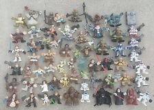 STAR WARS GALACTIC HEROS COLLECTION - 62 ACTION FIGURES - HASBRO