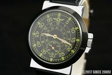 Vintage military WAR2 WW2 style pilots watch OLD stock Pobeda PILOT