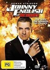 JOHNNY ENGLISH REBORN Rowna Atkinson DVD NEW