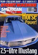 STREET MACHINE JUNE 2003-7.5L V8 67 MUSTANG-38 CHEVY DRAGSTER-FALCON VAN ROD MAG
