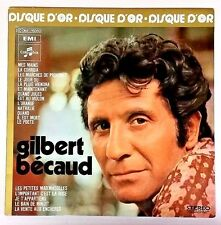 Gilbert Bécaud (Import LP Playtested 2C06416050 1st Pressing) Le Disque D'Or