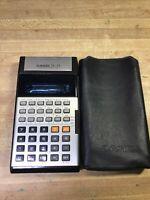 Vintage Casio Scientific Calculator fx-39 TESTED WORKING
