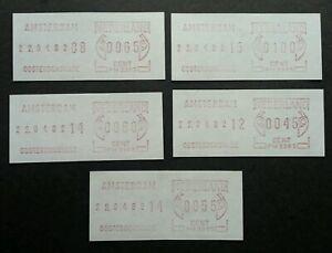 Netherlands Holland ATM AMSTERDAM 1982 Machine (Frama Label stamp) MNH
