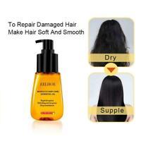 Moroccan Pure Argan Oil Hair Essential Oil For Frizzy Dry Hair Repair Hair U0P0